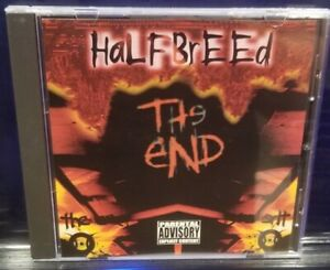 Halfbreed - The End CD house of krazees twiztid r.o.c. skrapz horrorcore esham