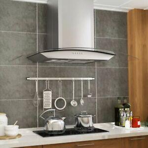 vidaXL-Hotte-Murale-90-cm-Acier-Inoxydable-LED-Aspirante-de-Cuisine-Maison