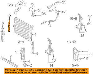 BMW Oem 0106 325ci 25ll6 Radiatorside Seal Right 17111436249 Ebay. Is Loading BMWoem0106325ci25ll6. BMW. BMW 325i 2 5l Engine Diagram At Scoala.co