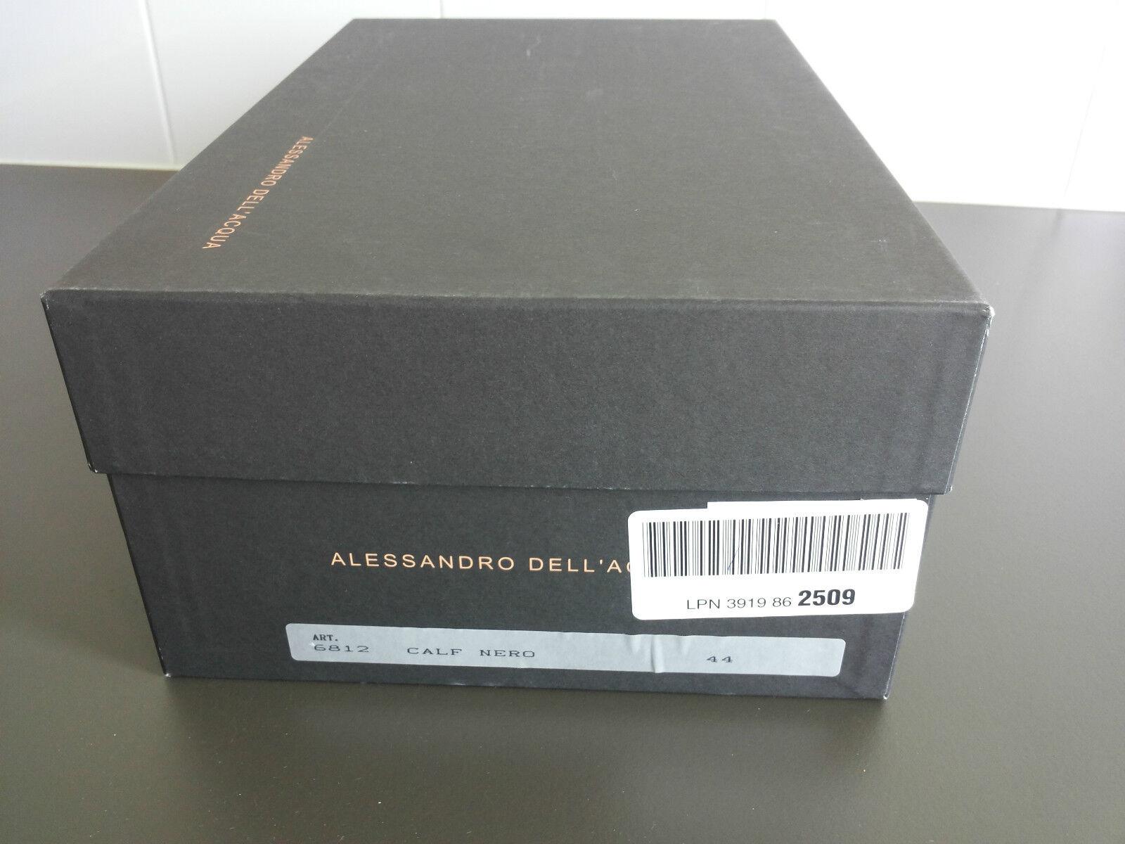 ALESSANDRO DELL''ACQUA SLIP-ON schuhe, SZ 44 EU, BNIB,  440 440 440 USD aa1bca