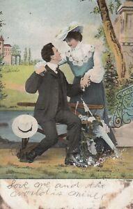 Postcard-Frisky-Man-with-Woman-Lovers-1908-St-Paul-Minn-Nelson