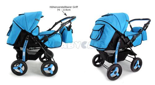 ★★★ Neu Kombi Kinderwagen Pram Poussette Sportsitz Autositz Babyschale Buggy