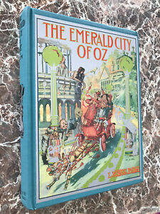 The Emerald City of Oz,and MAP~Best Facsimile of 1910 First Edition~L.Frank Baum