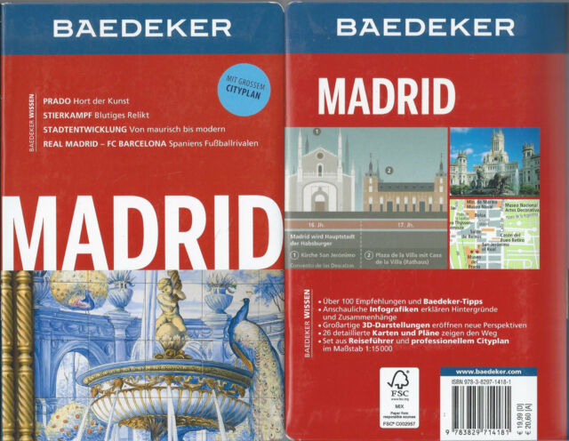 Madrid - Baedeker Reiseführer - 12. Auflage 2013 - Mit grossem Cityplan