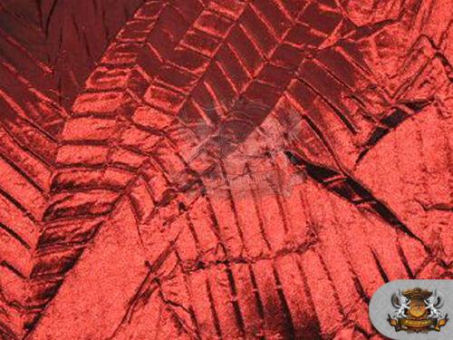 "Taffeta Bark Leaves Fabric BURGUNDY Sold by the yard 60/"" Wide"