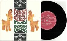 BADLY DRAWN BOY Donna and Blitzen UNRELEASED CHRISTMAS TRK UK 7 Inch VINYL 2001