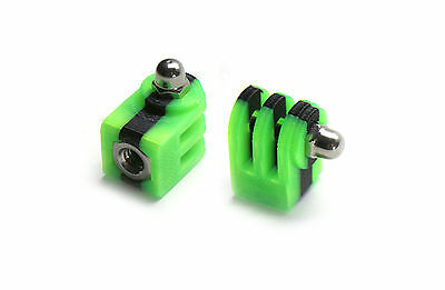 Tripod Mount for GoPro Go Pro HD HERO 1,2,3 Accessory Trip Adapter Monster Green