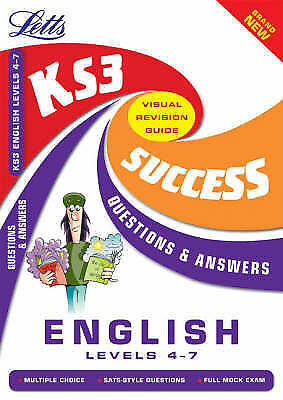 Key Stage 3 English Questions and Answers: Levels 4-7 by Letts Educational...