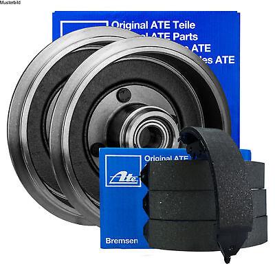 für Peugeot Toyota ATEOriginal 2 Bremstrommeln Bremsbackensatz Hinten u.a