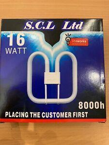2D 16w GR10q 4pin 10,000 Hours Energy Saving Light Bulb Lamp 3500k