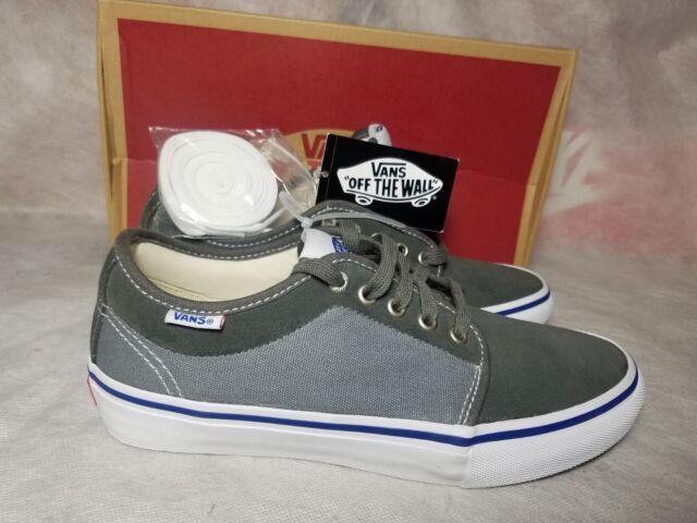 f4aeaeb0793897 Vans Chukka Low Pro Two Tone Gunmetal Men Size 7.5 Suede Canvas Ultra Cush  Shoe