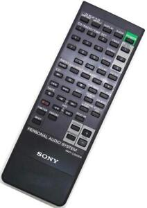 Genuine Sony RMT-C5000A Portable Audio System Remote For ZSX-5000