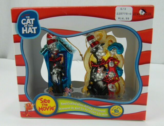 elope Dr Seuss Cat in the Hat Thing 1/&2 Jumpsuit S//M