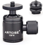 360 CNC ARTCISE CB19 Mini Tripod Ball Head with Removable 1//4 Hot Shoe Adapter