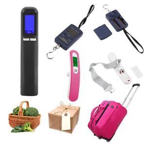 40KG/50kg электронные портативные Lcd цифровые весы крюк висячие багаж домой