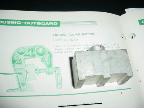 OMC 302435 Button Retainer to Stern Bracket Clamp Screw Outboard Tool Johnson