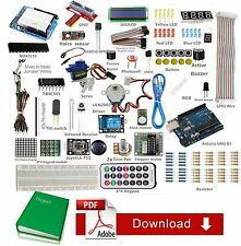Ultimate Starter Kit Para Arduino uno R3 1602 Lcd Servo Motor Relay RTC Led