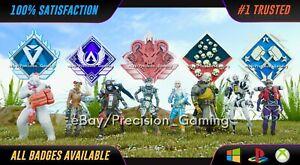 Apex Legends 20 4k Ranked RP Kills Arenas Badges PC XBOX PS4 PS5 Genuine *Read