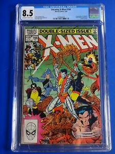 CGC-Comic-graded-8-5-X-MEN-Marvel-166-1st-app-Locheed-Key-issue-HOT
