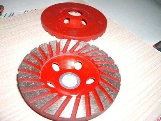 13 Pieces X  4  100 mm Diamond Turbo Grinding Cup Wheel Concrete Stone granite