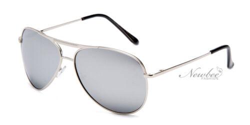Aviators Sunglasses Unique Design Top Bar Lens Spring Hinge Medium