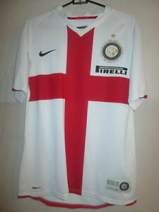 Details about Inter Milan 2007-2008 Centenary Away Football Shirt Size Small /12667
