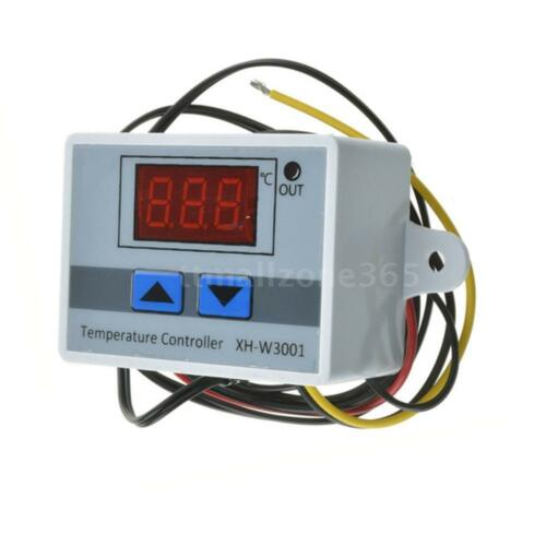 50-110℃ K9X6 Digital Temp Thermostat Temperature Controller Sensor Relay Switch