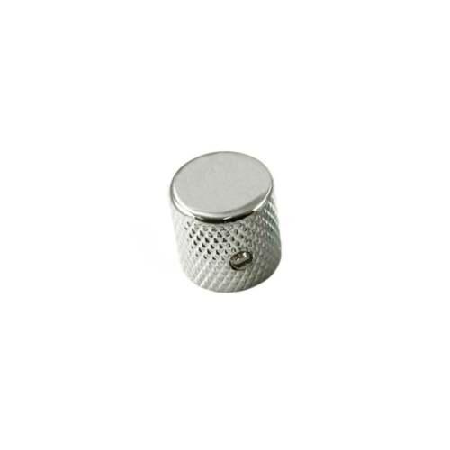 WD Music Tele Chrome Flat-Top Knob USA Fit Aluminium