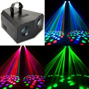 music active dual rotating led stage lighting club dj party disco