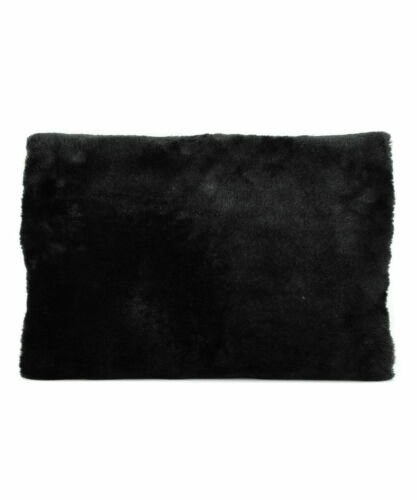 Fur Furry Fluffy Flip Cover Envelope Velvet Clutch Shoulder Bag Fit in iPad Case