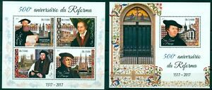 Martin-Luther-Personalities-of-Reformation-Protestantism-Sao-Tome-MNH-stamp-set