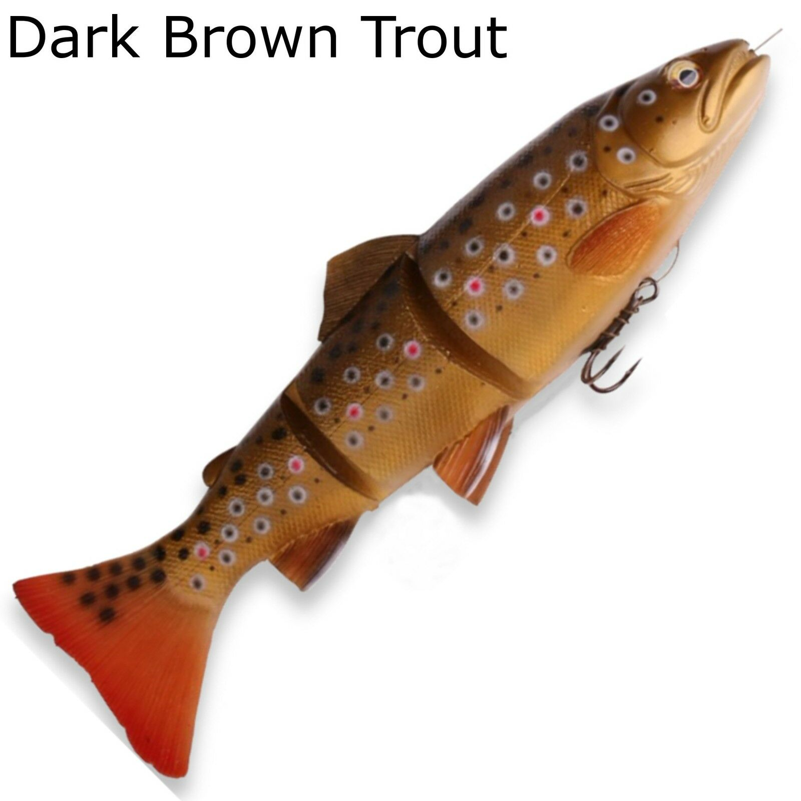 Savage Gear 3d 3d 3d line Thru trout Swim Bait-goma peces para hechtangeln 48166a