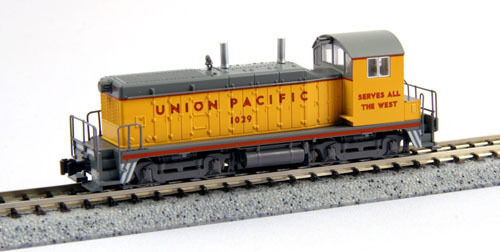 Kato 176 -4374 EMD Nw2 Union Pacific (Escala N)