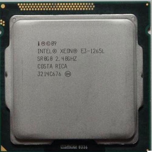 Intel Xeon E3-1265L 2.4GHz Quad Core CPU SR0G0 LGA1155 Gen8 Tested Processer cpu