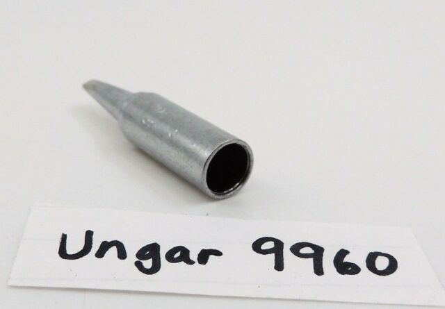 """UNGAR 9967 Chisel Soldering Tip New Old Stock 1 13//16/"""" long Made in the USA"""