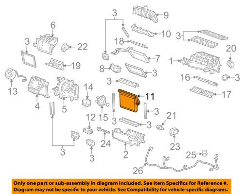 Chevrolet GM OEM 10-15 Camaro-A//C AC Evaporator Core 92229744