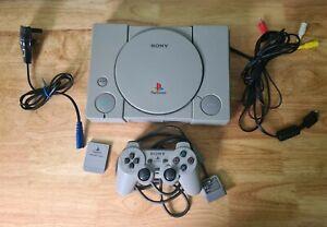 PS1 PlayStation AUDIOPHILE Consola (PAL SCPH - 1002) 1 Xcontroller 1 x Tarjeta de memoria