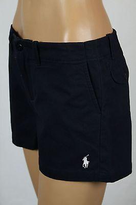 Ralph Lauren Sport Navy Blue Shorts White Pony Logo NWT