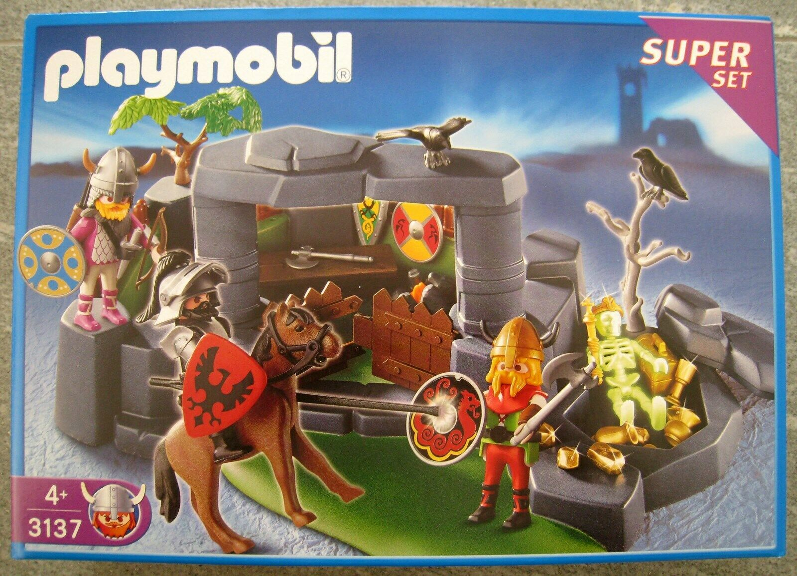 Playmobil 3137 Schild Schilder Wikinger Barbaren Kelten Germanen