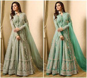 Anarkali-Kameez-Indian-Salwar-Suit-Dress-Pakistani-Designer-Wear-M-S-Wedding