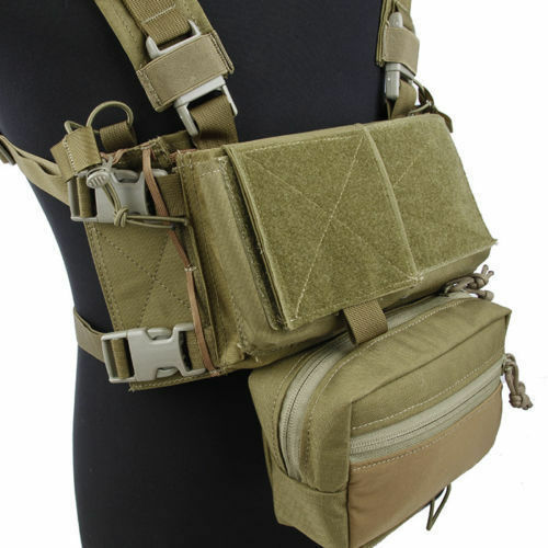 TMC3115 TMC Airsoft Vest Modular Chest Rig Set KK For Hunting Tactical