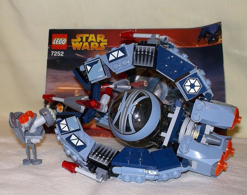 LEGO STAR WARS WARS WARS DROID TRI-FIGHTER 7252 (1) fd3343
