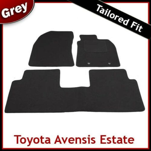 TOYOTA Avensis Mk3 Estate 2009-2018 SU MISURA TAPPETI AUTO tappetini Grigio