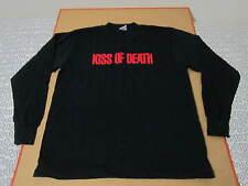 Kiss Of Death movie film promo shirt long sleeve deadstock nos rap 90s rare vtg