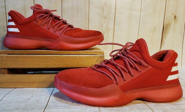 adidas James Harden Vol.1 NBA Rocket Boost Redwhite Shoes CQ1404 Men Sz 8 M