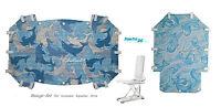 Premium 4,5mm Badeset F. Badewannen Sitzauflage Invacare Aquatec Orca