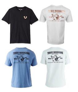 8104969c356 New! True Religion Brand Jeans Men s Metallic Puff Logo Horseshoe ...