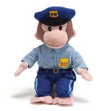 Gund Curious George-Policeman 13 inch Plush Toy