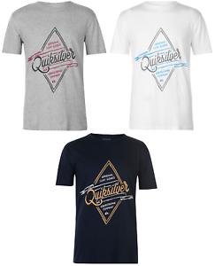 Quiksilver t-shirt t shirt tshirt manga corta señores top ocio casual Midnight 41