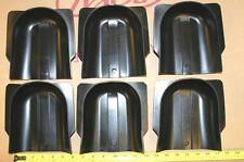 Pool table pocket liner gully boots, qty. 6  for 1 price - NEW Valley & Dynamo